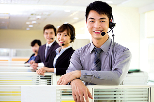 A team of professional and well trained IT Helpdesk Engineers